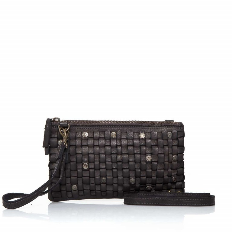 HARBOUR2nd Clutch Lillen Dark Ash, Farbe: anthrazit, Marke: Harbour 2nd, Abmessungen in cm: 23.0x13.0x2.0, Bild 1 von 3