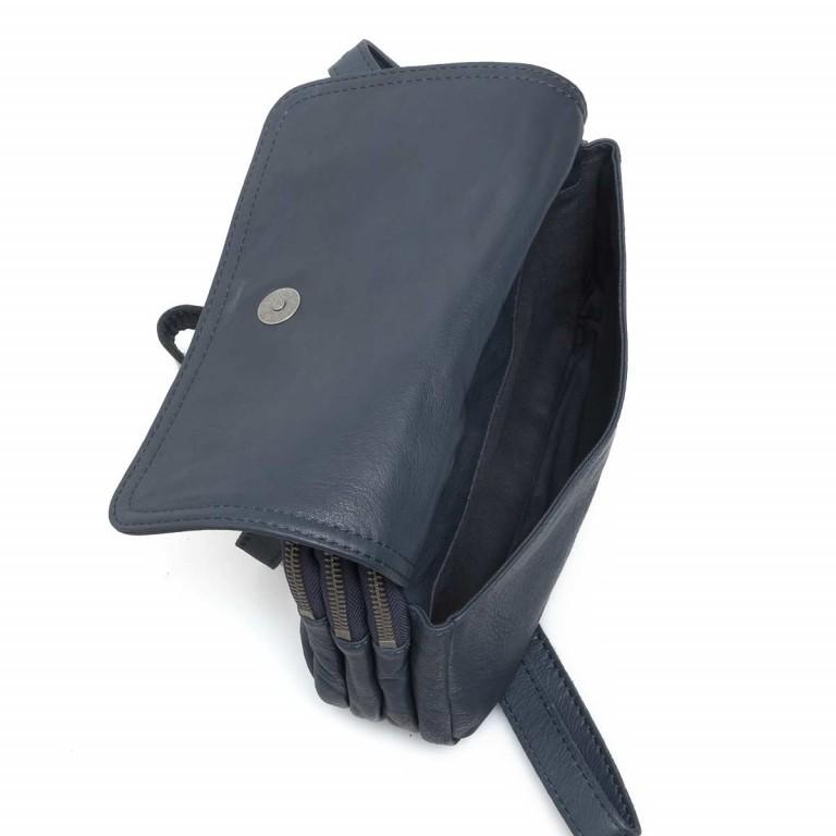 LIEBESKIND Vintage Maike 6 Tasche Dark Blue, Farbe: blau/petrol, Marke: Liebeskind Berlin, EAN: 4051436837810, Abmessungen in cm: 23.0x17.0x7.0, Bild 3 von 5