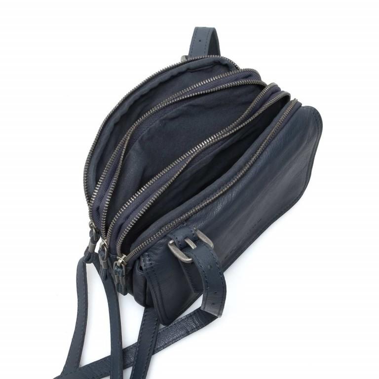 LIEBESKIND Vintage Maike 6 Tasche Dark Blue, Farbe: blau/petrol, Marke: Liebeskind Berlin, EAN: 4051436837810, Abmessungen in cm: 23.0x17.0x7.0, Bild 4 von 5