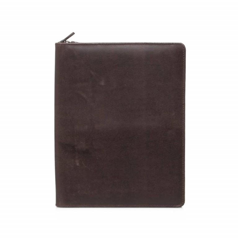 LEONHARD HEYDEN Dakota Schreibmappe Braun, Farbe: braun, Marke: Leonhard Heyden, EAN: 4025307689242, Abmessungen in cm: 25.0x32.0x2.0, Bild 1 von 3