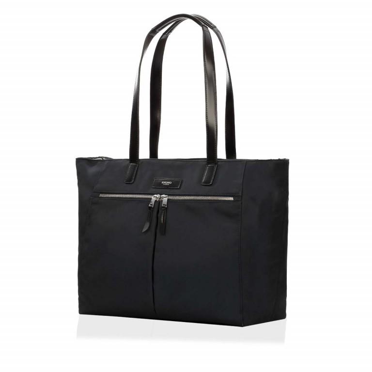 Knomo Business-Shopper Mayfair Grosvenor Schwarz, Farbe: schwarz, Marke: Knomo, Abmessungen in cm: 46.0x31.0x14.5, Bild 1 von 3