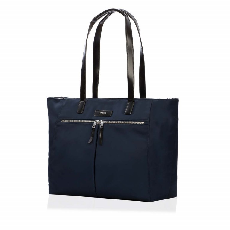 Knomo Business-Shopper Mayfair Grosvenor Blau, Farbe: blau/petrol, Manufacturer: Knomo, Dimensions (cm): 46.0x31.0x14.5, Image 1 of 3