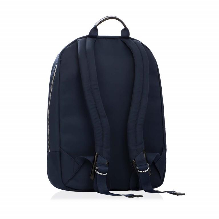 Knomo Laptop-Rucksack Mayfair Beauchamp Blau, Farbe: blau/petrol, Marke: Knomo, Abmessungen in cm: 29.0x40.0x10.0, Bild 2 von 4