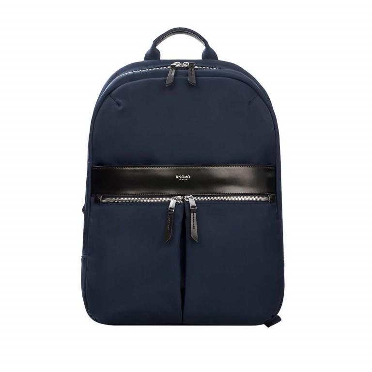 Knomo Laptop-Rucksack Mayfair Beauchamp Blau, Farbe: blau/petrol, Marke: Knomo, Abmessungen in cm: 29.0x40.0x10.0, Bild 1 von 4