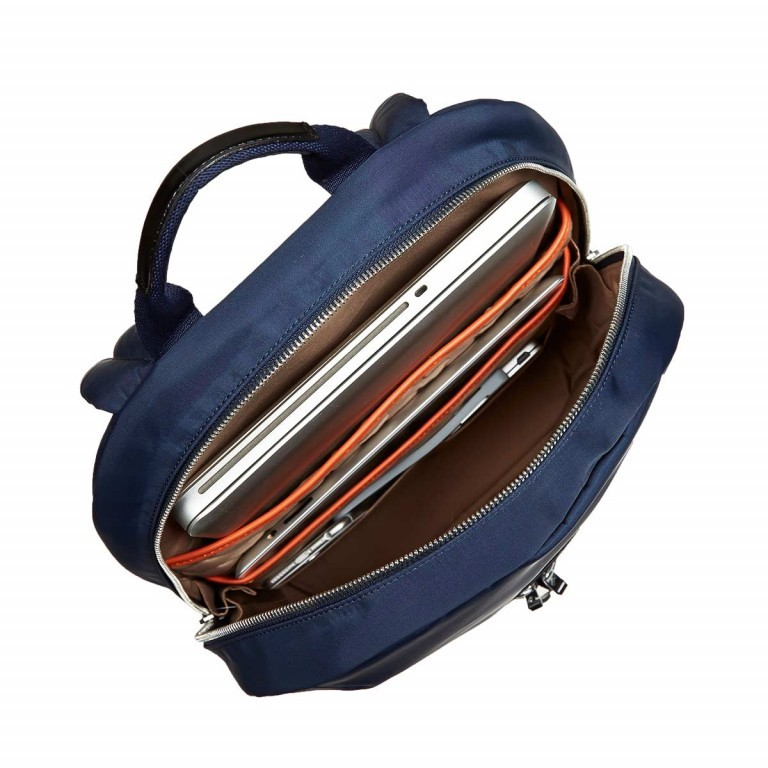 Knomo Laptop-Rucksack Mayfair Beauchamp Blau, Farbe: blau/petrol, Marke: Knomo, Abmessungen in cm: 29.0x40.0x10.0, Bild 4 von 4