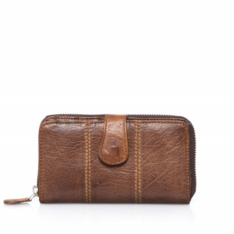 Bull & Hunt Börse Cashbox Wallet Mocha Washed, Farbe: cognac, Marke: Bull & Hunt, Abmessungen in cm: 12.0x8.0, Bild 1 von 3