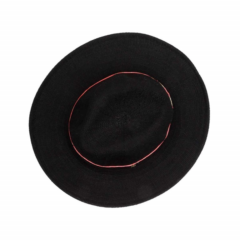 Codello Strohhut Black, Farbe: schwarz, Marke: Codello, EAN: 4043072688956, Bild 2 von 4