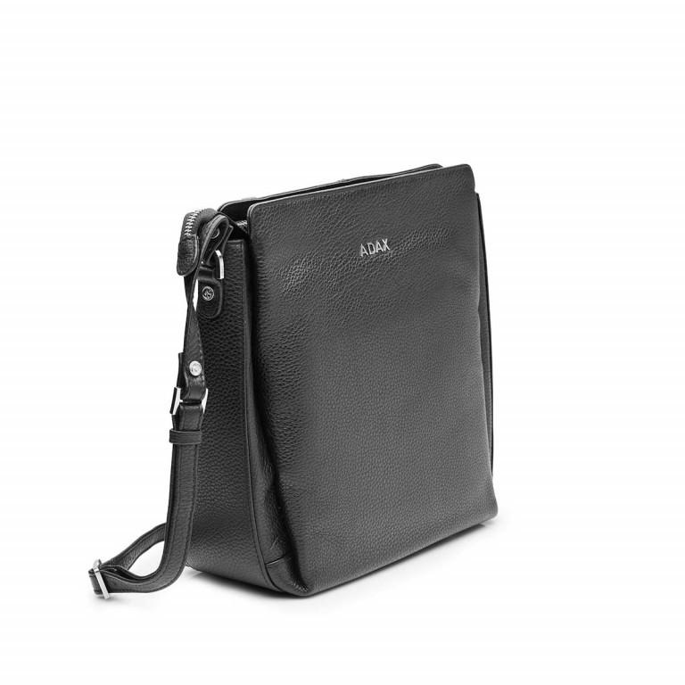 Adax Cormorano 229992 Tasche Black, Farbe: schwarz, Marke: Adax, EAN: 5705483160337, Abmessungen in cm: 23.0x25.0x9.0, Bild 2 von 3