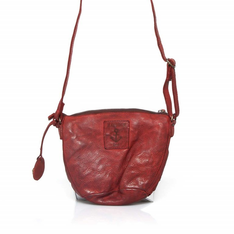 HARBOUR2nd Beutel Hansine B3.4820 Addicting Red, Farbe: rot/weinrot, Marke: Harbour 2nd, EAN: 4046478019805, Abmessungen in cm: 23.0x18.0x5.0, Bild 2 von 2