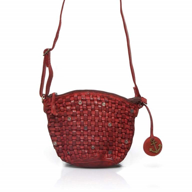 HARBOUR2nd Beutel Hansine B3.4820 Addicting Red, Farbe: rot/weinrot, Marke: Harbour 2nd, EAN: 4046478019805, Abmessungen in cm: 23.0x18.0x5.0, Bild 1 von 2