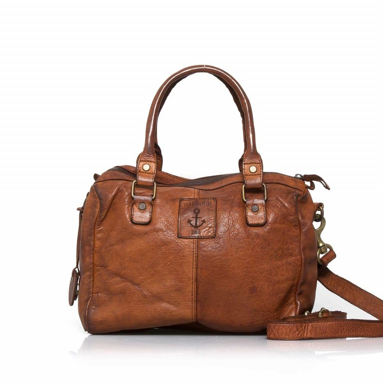 HARBOUR2nd Bowling Bag Fanny Cognac, Farbe: cognac, Manufacturer: Harbour 2nd, Dimensions (cm): 30.0x25.0x10.0, Image 2 of 3