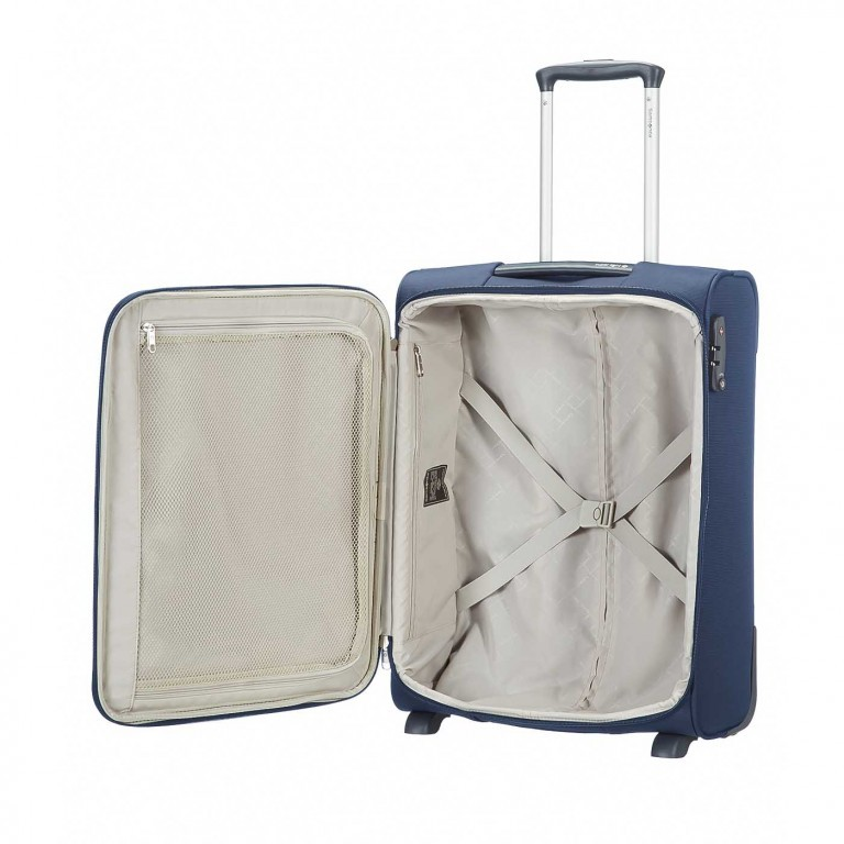 Samsonite Koffer/Trolley Base Hits 62060 Upright 50 Navy Blue, Farbe: blau/petrol, Marke: Samsonite, Abmessungen in cm: 40.0x50.0x20.0, Bild 4 von 5