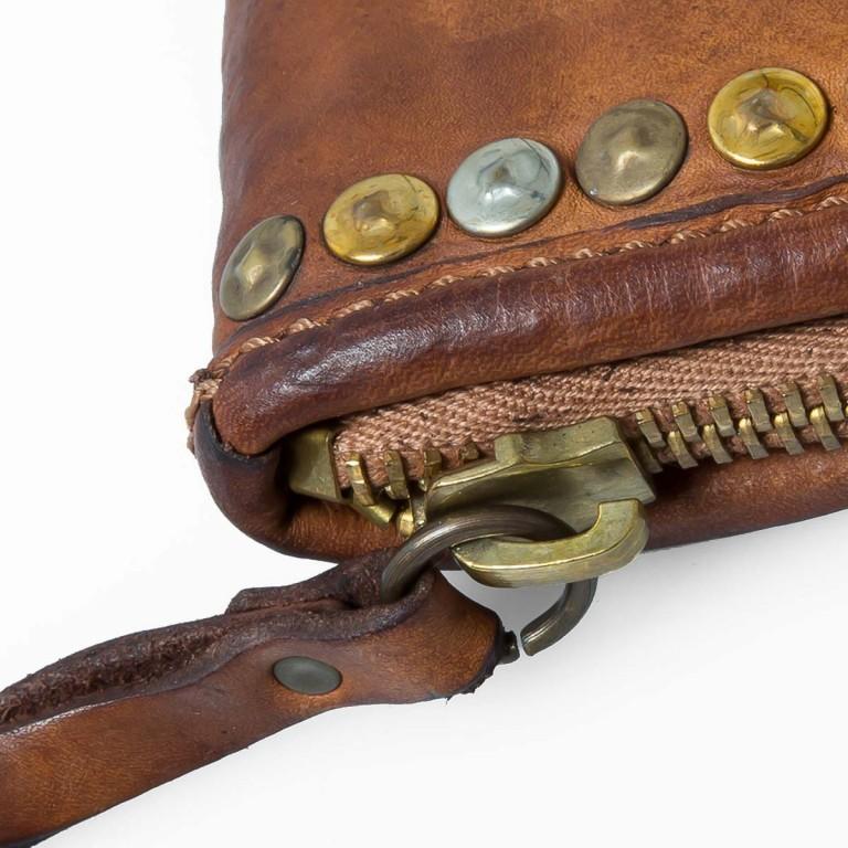 Campomaggi Geldbörse mit Nieten Cognac CP0033, Farbe: cognac, Marke: Campomaggi, Abmessungen in cm: 21.0x11.0x4.0, Bild 4 von 4