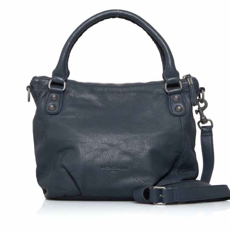 LIEBESKIND Vintage Gina 6 Shopper Dark Blue, Farbe: blau/petrol, Marke: Liebeskind Berlin, EAN: 4051436837537, Abmessungen in cm: 33.0x25.0x12.0, Bild 1 von 4