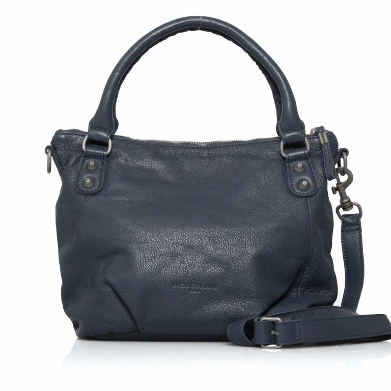 LIEBESKIND Vintage Gina 6 Shopper Dark Blue, Farbe: blau/petrol, Manufacturer: Liebeskind Berlin, EAN: 4051436837537, Dimensions (cm): 33.0x25.0x12.0, Image 1 of 4