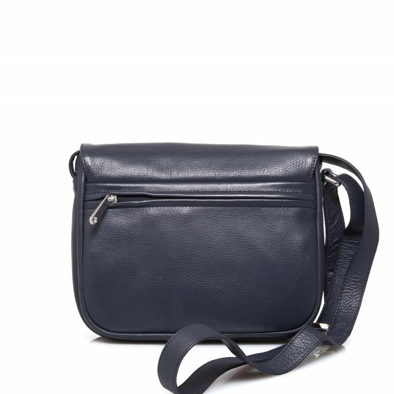 BREE Lady Top 12 Damenhandtasche Leder Blau, Farbe: blau/petrol, Marke: Bree, Abmessungen in cm: 25.0x20.0x11.0, Bild 4 von 4