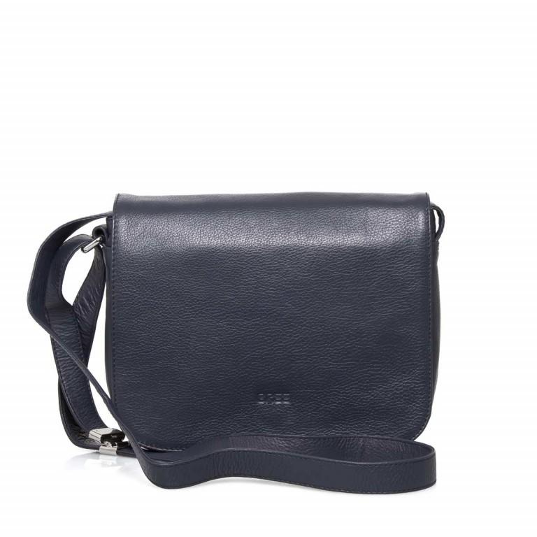 BREE Lady Top 12 Damenhandtasche Leder Blau, Farbe: blau/petrol, Marke: Bree, Abmessungen in cm: 25.0x20.0x11.0, Bild 1 von 4