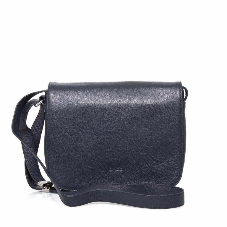 BREE Lady Top 12 Damenhandtasche Leder Blau, Farbe: blau/petrol, Manufacturer: Bree, Dimensions (cm): 25.0x20.0x11.0, Image 1 of 4