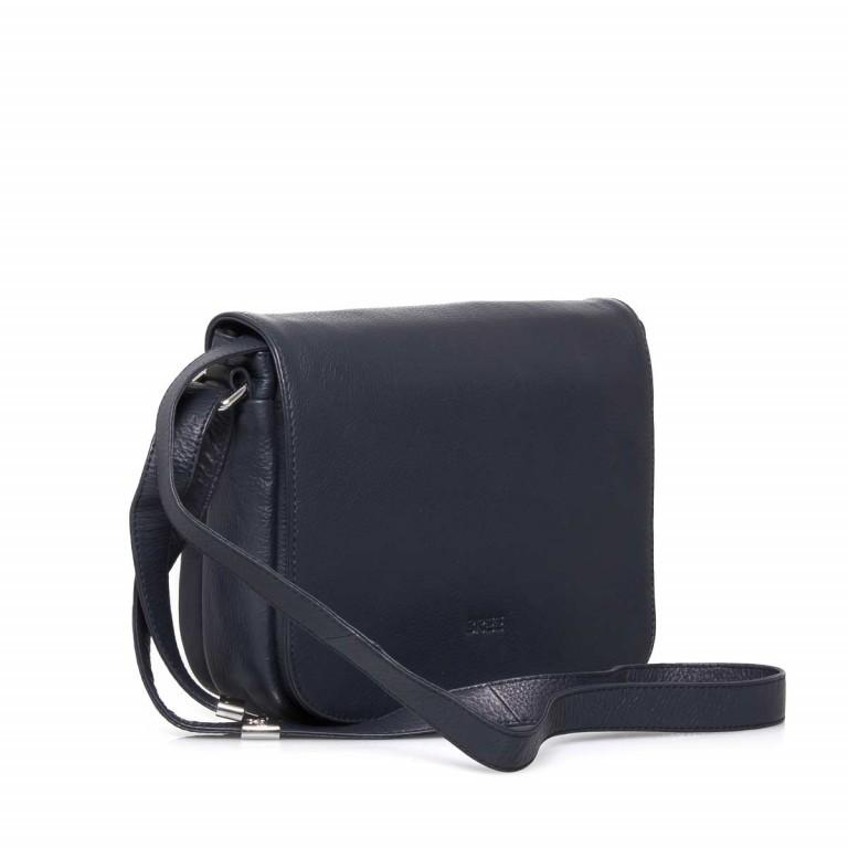 BREE Lady Top 12 Damenhandtasche Leder Blau, Farbe: blau/petrol, Marke: Bree, Abmessungen in cm: 25.0x20.0x11.0, Bild 2 von 4
