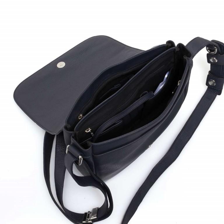 BREE Lady Top 12 Damenhandtasche Leder Blau, Farbe: blau/petrol, Marke: Bree, Abmessungen in cm: 25.0x20.0x11.0, Bild 3 von 4