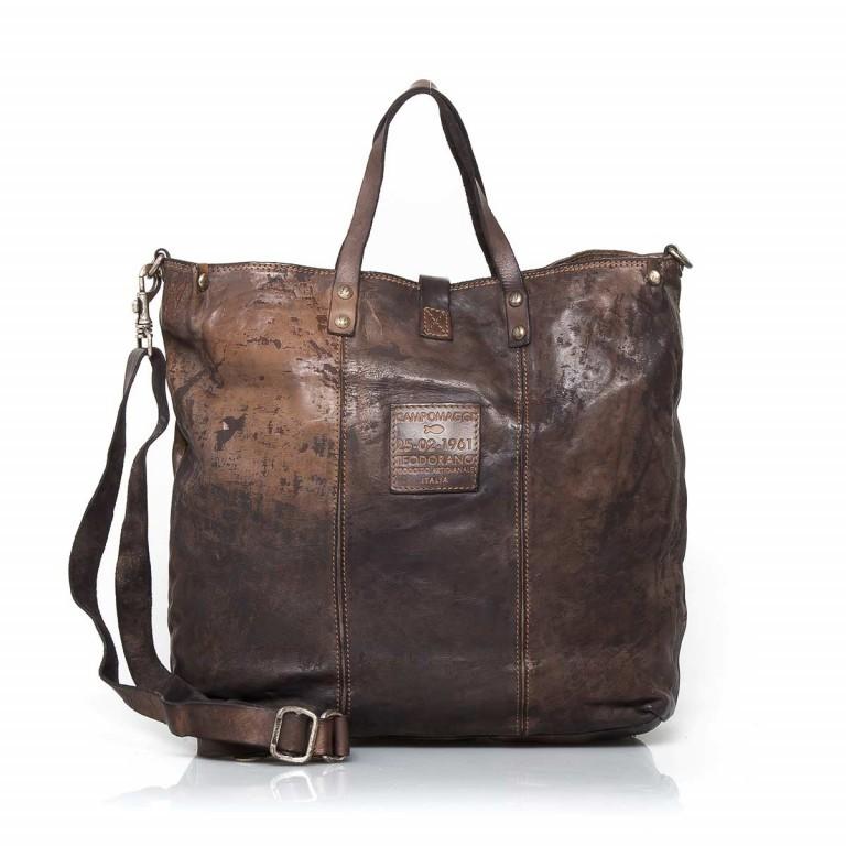 Campomaggi Shopper Leder 40cm C2068-VL Grau, Farbe: grau, Marke: Campomaggi, Abmessungen in cm: 40.0x37.0x12.0, Bild 3 von 4