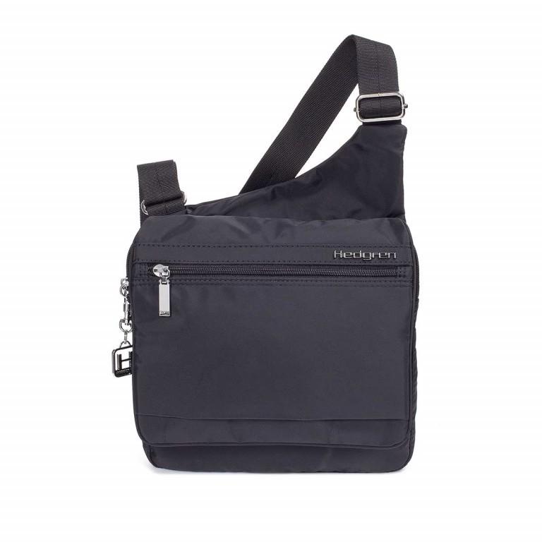 Hedgren Inner City Shoulder Bag Sputnik Schwarz, Farbe: schwarz, Marke: Hedgren, Abmessungen in cm: 23.0x30.0x4.0, Bild 1 von 1