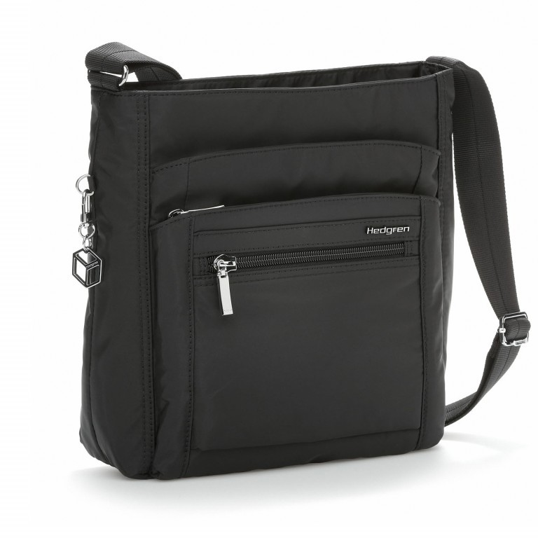 Hedgren Inner City Shoulder Bag Orva Black, Farbe: schwarz, Marke: Hedgren, Abmessungen in cm: 25.0x26.0x8.0, Bild 1 von 3