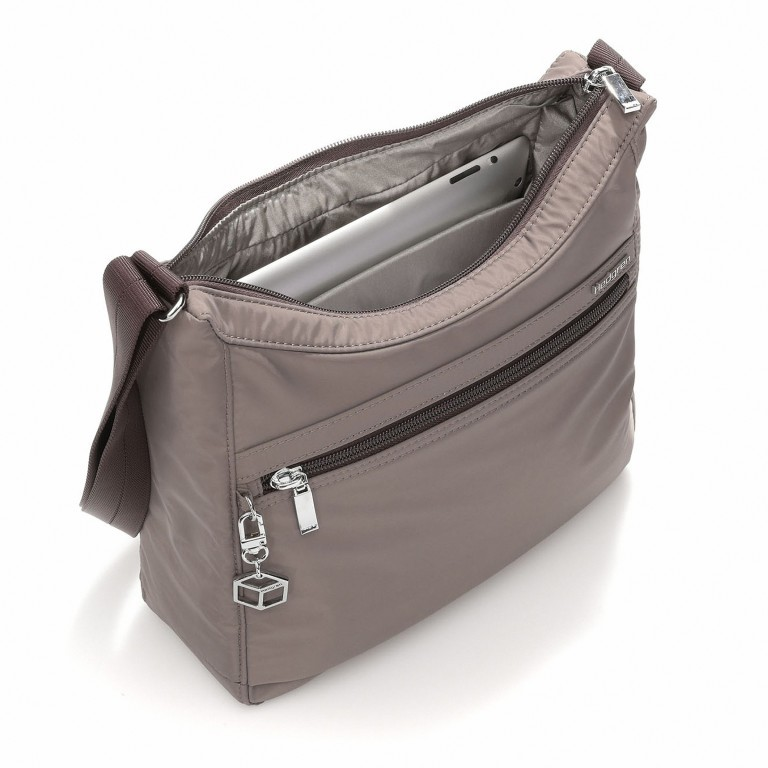 Hedgren Inner City Shoulder Bag Harper's S Sepia, Farbe: taupe/khaki, Marke: Hedgren, Abmessungen in cm: 29.0x24.0x8.5, Bild 2 von 3