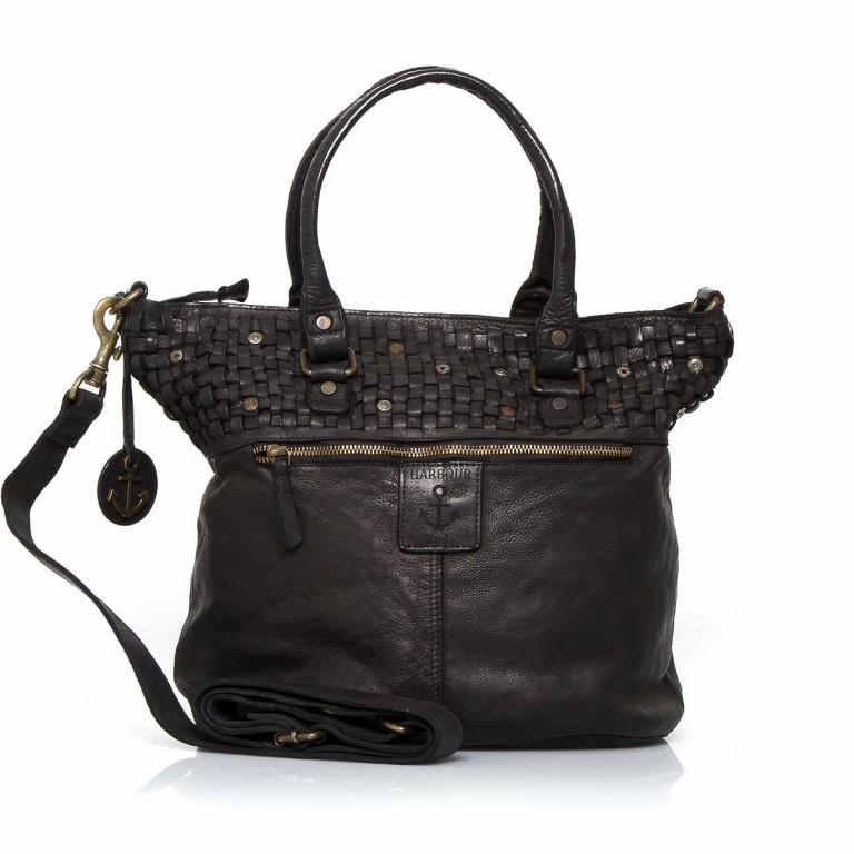HARBOUR2nd Shopper Catharina Black, Farbe: schwarz, Marke: Harbour 2nd, Abmessungen in cm: 41.0x33.0x17.0, Bild 2 von 3