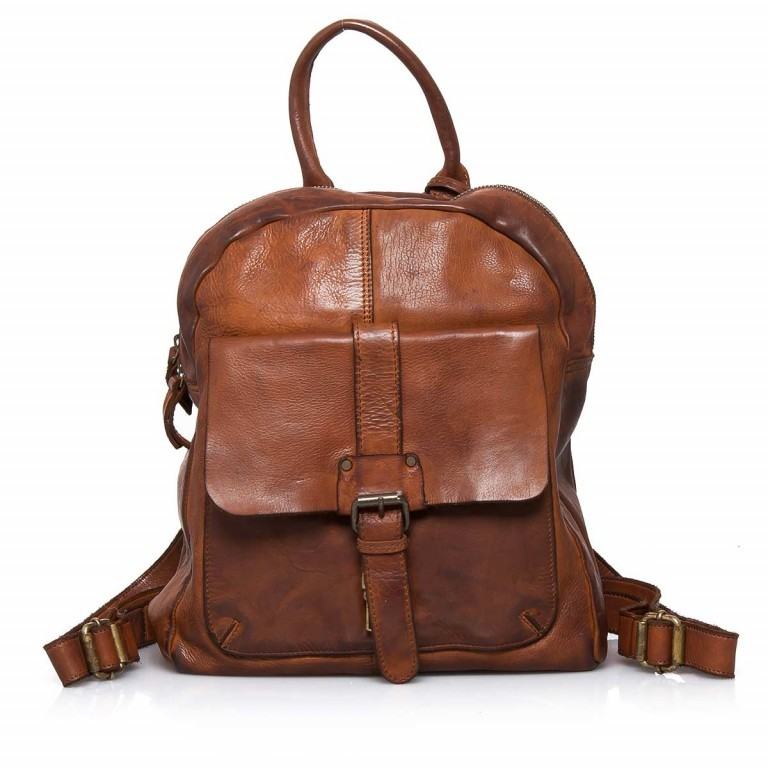 HARBOUR2nd Rucksack Gudrun Cognac, Farbe: cognac, Manufacturer: Harbour 2nd, Dimensions (cm): 35.0x28.0x8.0, Image 1 of 4