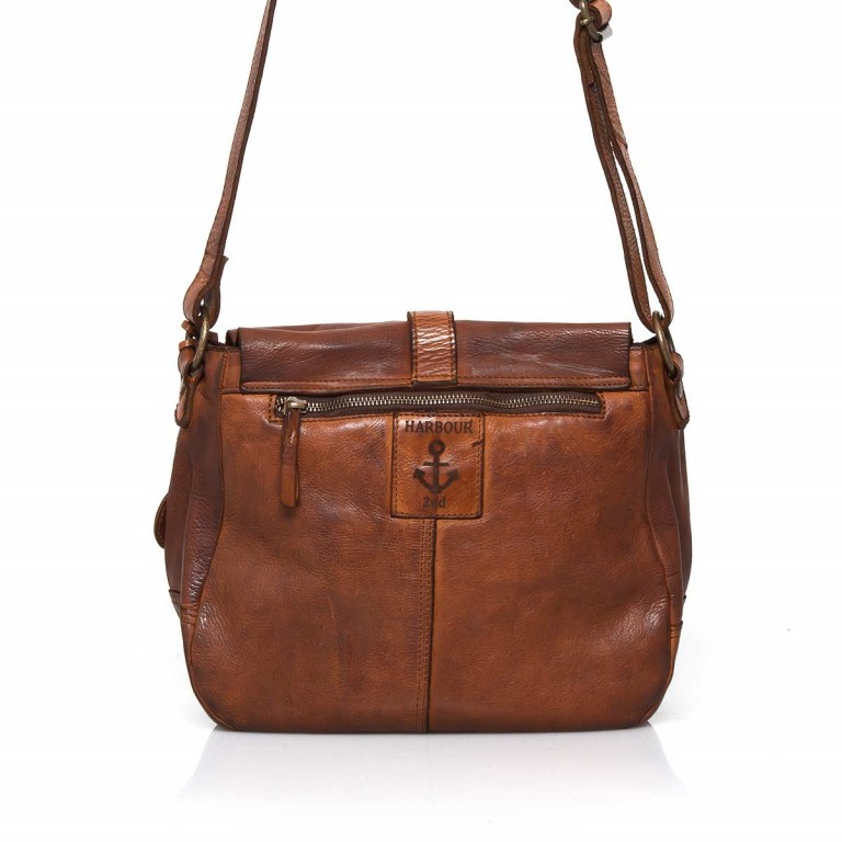 HARBOUR2nd Saddle Bag Nauja Cognac, Farbe: cognac, Marke: Harbour 2nd, Abmessungen in cm: 29.0x28.0x11.0, Bild 3 von 5