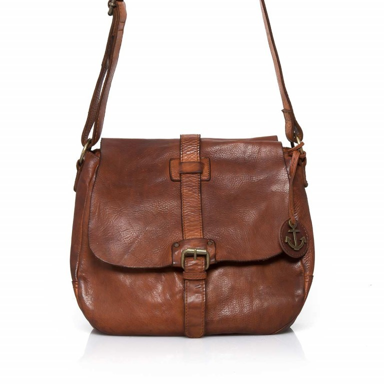 HARBOUR2nd Saddle Bag Nauja Cognac, Farbe: cognac, Marke: Harbour 2nd, Abmessungen in cm: 29.0x28.0x11.0, Bild 1 von 5