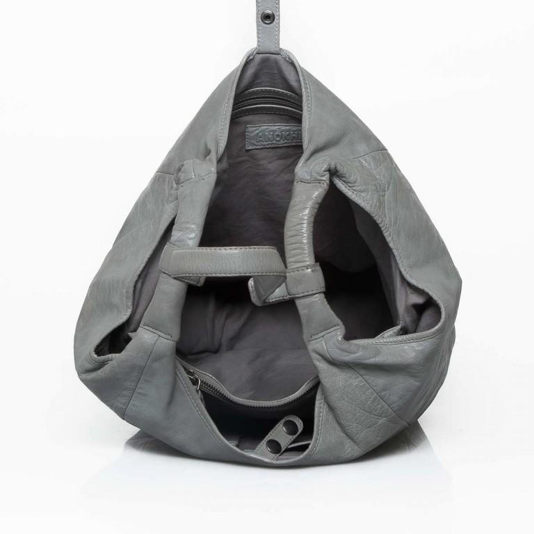 Anokhi Leder-Shopper Cheyenne Grey, Farbe: grau, Marke: Anokhi, Abmessungen in cm: 41.0x33.0x23.0, Bild 2 von 2