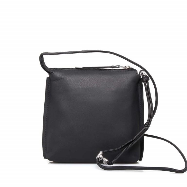 BREE Toulouse 1 Cross Shoulderbag S Leder Black Smooth, Farbe: schwarz, Marke: Bree, EAN: 4038671143838, Abmessungen in cm: 19.0x20.0x4.0, Bild 2 von 4