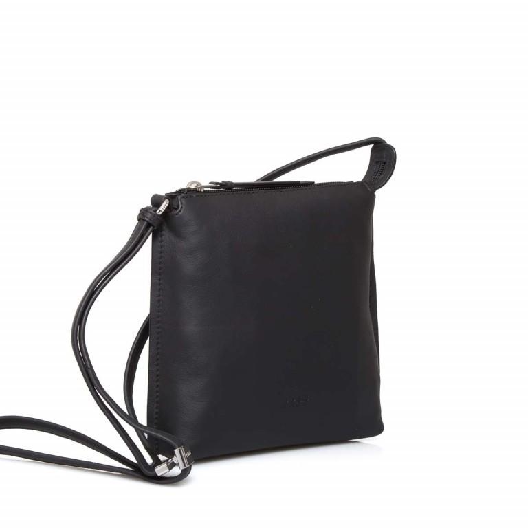 BREE Toulouse 1 Cross Shoulderbag S Leder Black Smooth, Farbe: schwarz, Marke: Bree, EAN: 4038671143838, Abmessungen in cm: 19.0x20.0x4.0, Bild 3 von 4