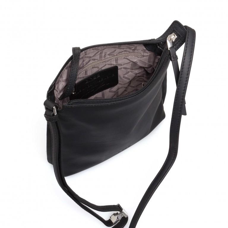 BREE Toulouse 1 Cross Shoulderbag S Leder Black Smooth, Farbe: schwarz, Marke: Bree, EAN: 4038671143838, Abmessungen in cm: 19.0x20.0x4.0, Bild 4 von 4