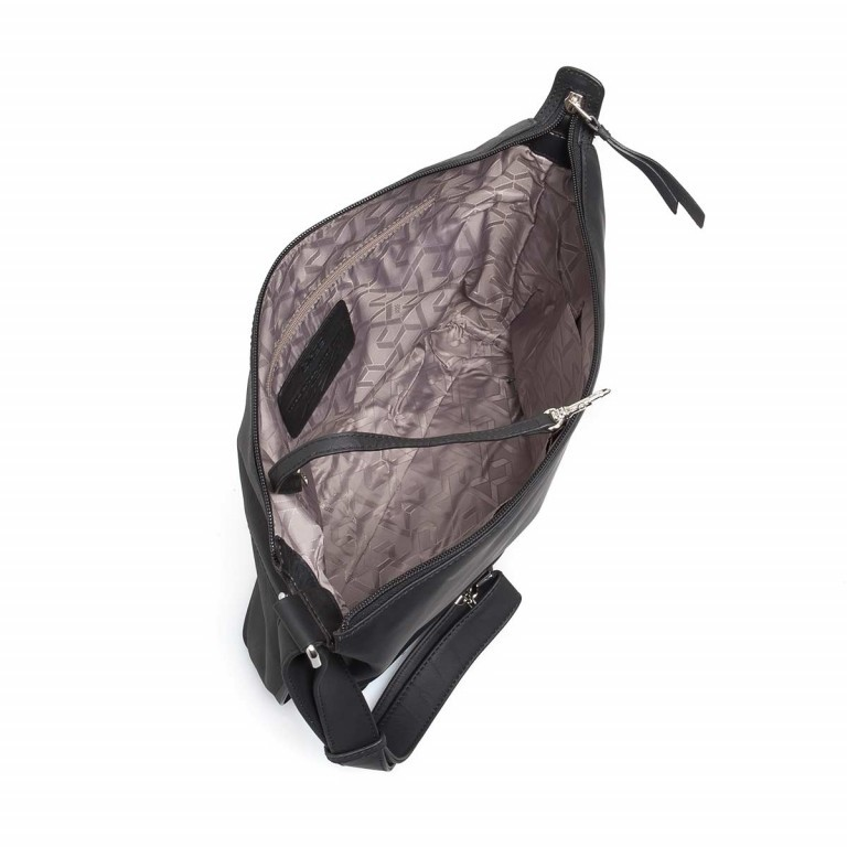 BREE Toulouse 2 Cross Shoulderbag M Leder Black Smooth, Farbe: schwarz, Manufacturer: Bree, EAN: 4038671143845, Dimensions (cm): 38.0x37.0x9.0, Image 4 of 4