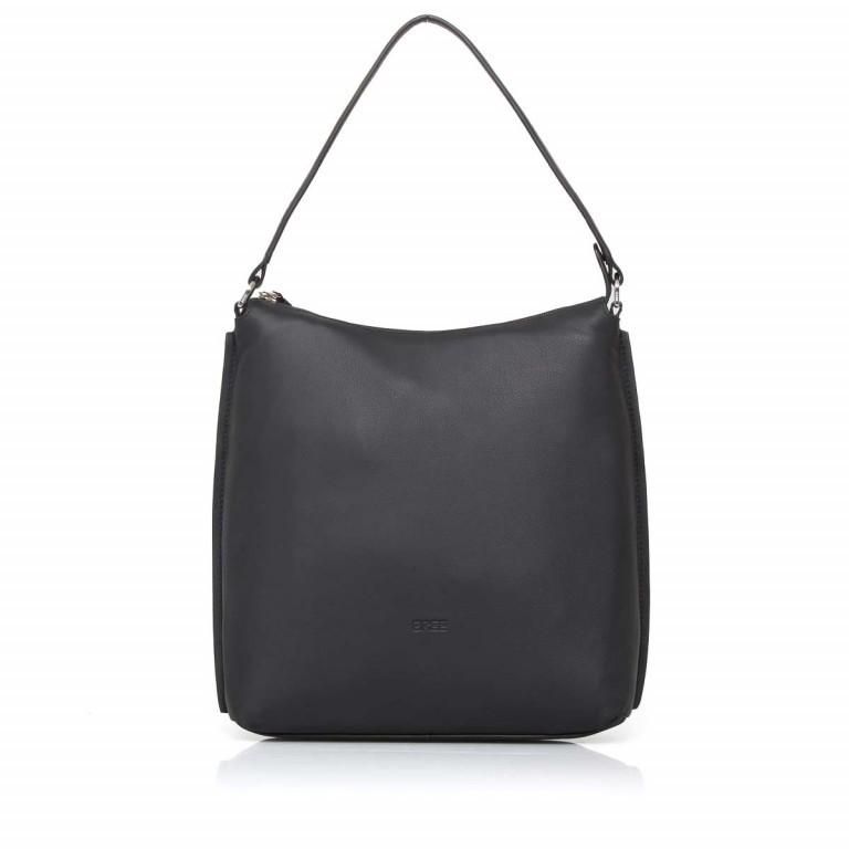 BREE Toulouse 4 Hobobag Leder Black Smooth, Farbe: schwarz, Marke: Bree, EAN: 4038671143869, Bild 2 von 5