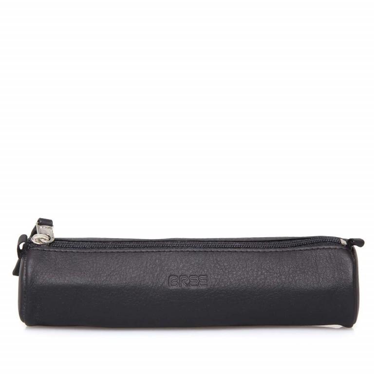 BREE Toulouse 312 Pencil Case Leder Black Smooth, Farbe: schwarz, Marke: Bree, EAN: 4038671143906, Abmessungen in cm: 17.5x5.0x5.0, Bild 1 von 4