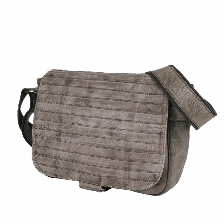 Bull & Hunt Twenty Five Kuriertasche Grey Stripe, Farbe: grau, Manufacturer: Bull & Hunt, Dimensions (cm): 25.0x31.0x11.0, Image 1 of 4