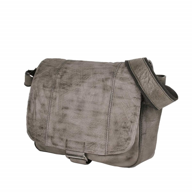 Bull & Hunt Twenty Five Kuriertasche Grey Stripe, Farbe: grau, Manufacturer: Bull & Hunt, Dimensions (cm): 25.0x31.0x11.0, Image 3 of 4
