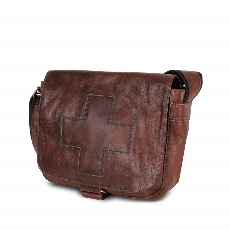 Bull & Hunt Twenty Five Kuriertasche Cross Washed, Farbe: cognac, Manufacturer: Bull & Hunt, Dimensions (cm): 25.0x31.0x11.0, Image 1 of 4