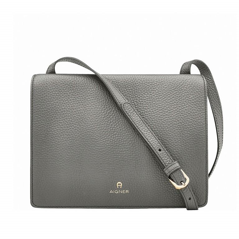 AIGNER Ivy Mini-Tasche 135-168 Grey, Farbe: grau, Marke: Aigner, Abmessungen in cm: 23.5x18.0x10.0, Bild 1 von 2