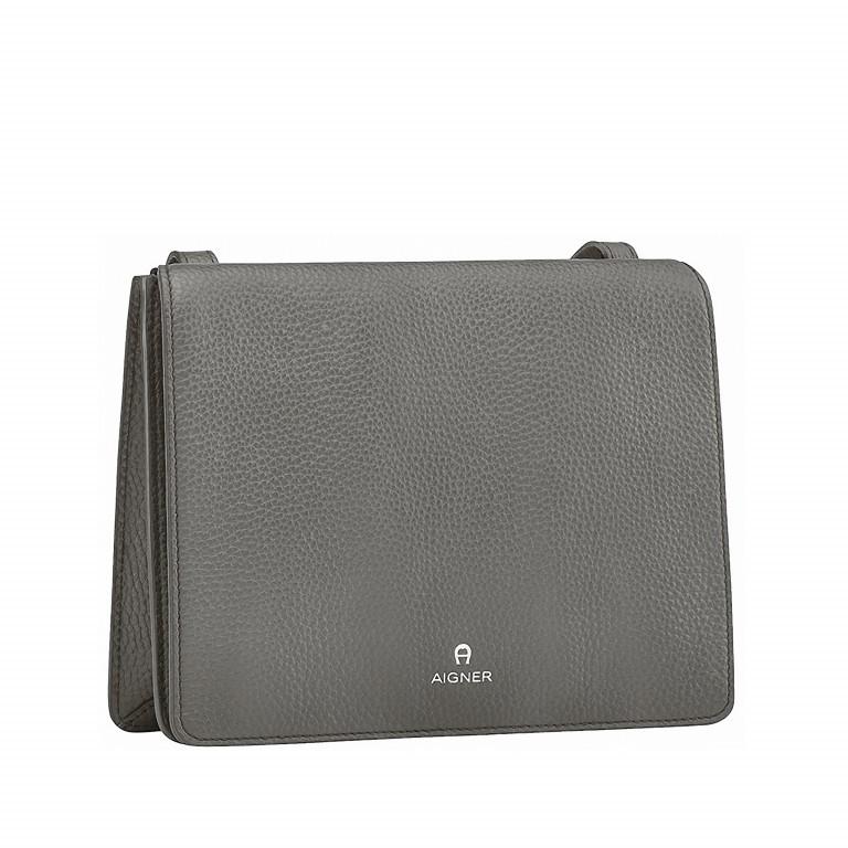 AIGNER Ivy Mini-Tasche 135-168 Grey, Farbe: grau, Marke: Aigner, Abmessungen in cm: 23.5x18.0x10.0, Bild 2 von 2