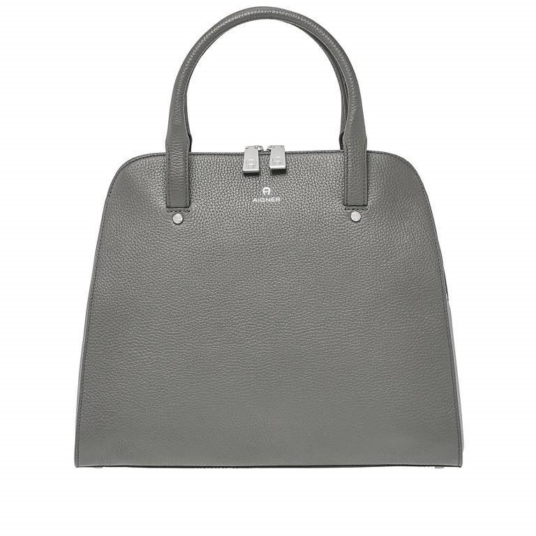 AIGNER Ivy Handtasche 133-424 Grey, Farbe: grau, Marke: Aigner, Abmessungen in cm: 34.0x28.0x10.0, Bild 1 von 3
