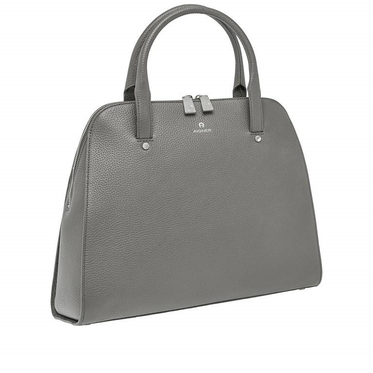 AIGNER Ivy Handtasche 133-424 Grey, Farbe: grau, Marke: Aigner, Abmessungen in cm: 34.0x28.0x10.0, Bild 2 von 3