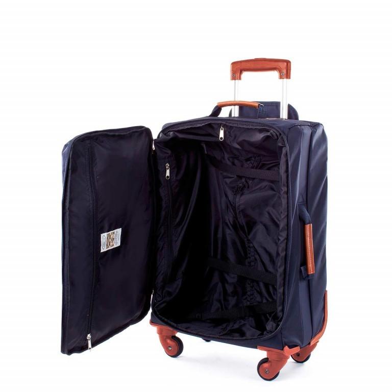 Brics X-Travel Kabinentrolley 4-Rollen 55cm BXL38117 Blau, Farbe: blau/petrol, Marke: Brics, Abmessungen in cm: 36.0x55.0x23.0, Bild 4 von 4