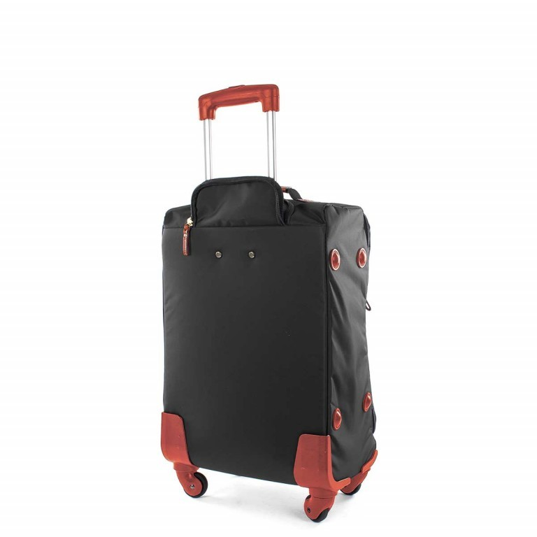 Brics X-Travel Kabinentrolley 4-Rollen 55cm BXL38117 Schwarz, Farbe: schwarz, Marke: Brics, Abmessungen in cm: 36.0x55.0x23.0, Bild 3 von 4