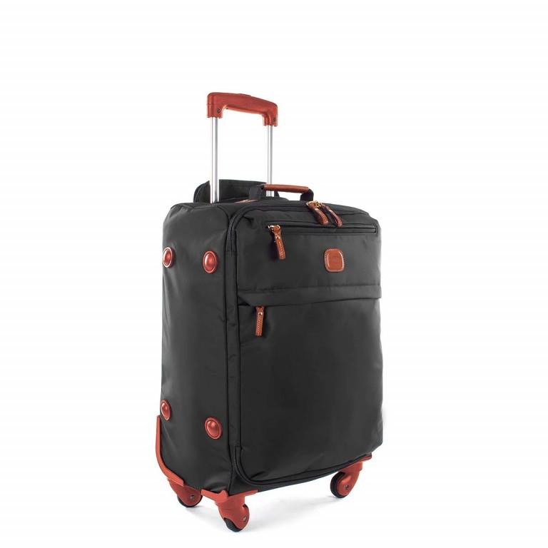 Brics X-Travel Kabinentrolley 4-Rollen 55cm BXL38117 Schwarz, Farbe: schwarz, Marke: Brics, Abmessungen in cm: 36.0x55.0x23.0, Bild 2 von 4
