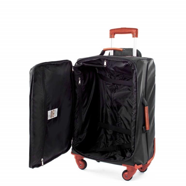 Brics X-Travel Kabinentrolley 4-Rollen 55cm BXL38117 Schwarz, Farbe: schwarz, Marke: Brics, Abmessungen in cm: 36.0x55.0x23.0, Bild 4 von 4